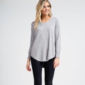 Long Sleeve V-Neck Sweater